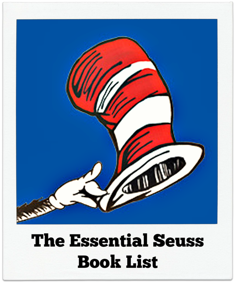 Essential Seuss List